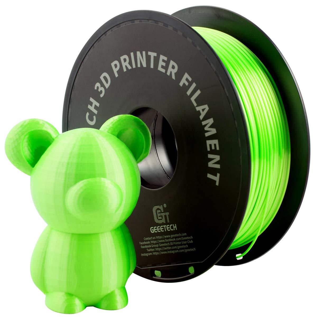 Test du filament Silk GEEETECH
