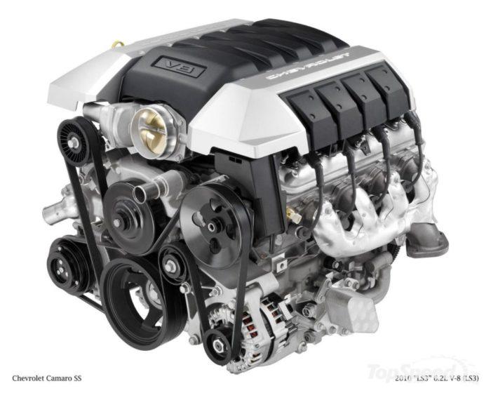Projet Moteur V8 Camaro 3D