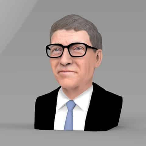 Bill Gates et l'impression 3D